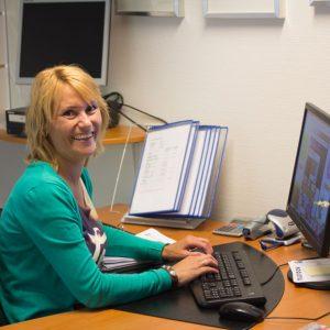 Saskia Kok administratief medewerker hoveniers bedrijf